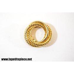Broche bijoux fantaisie années 1960
