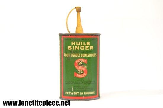 Burette à huile SINGER (Machines à coudre)