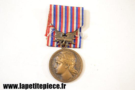 Médaille Postes et Telegraphes, devoir et dévouement 1934