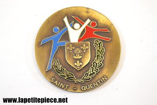 Médaille de l'office des sports, ville de Saint-Quentin (Aisne)