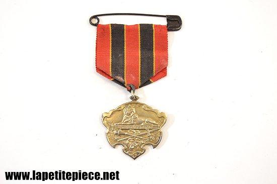 Médaille fédération Royale Belge de gymnastique