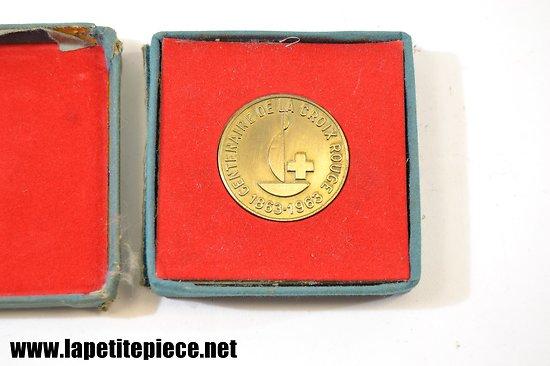 Médaille centenaire de la Croix Rouge 1863-1963