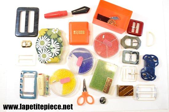 Lot de couture et accesoires années 1960 -1970