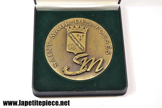 Médaille de la ville : Saint-Maur-Des-Fossés, par Vona