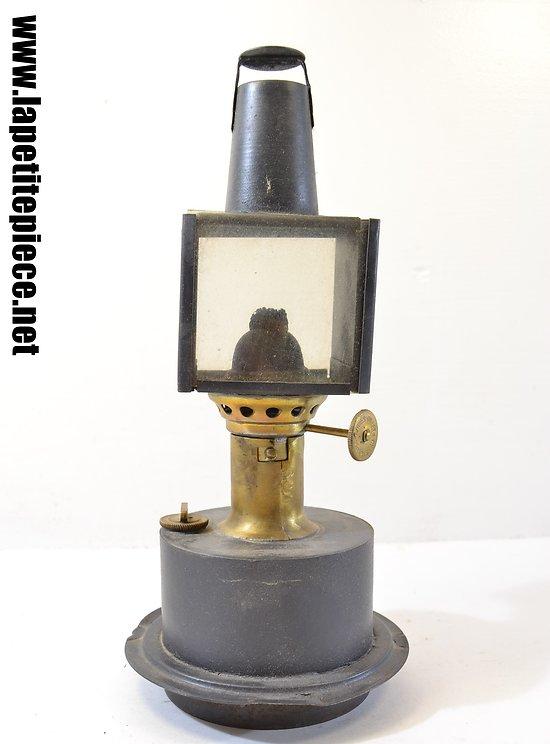 Intérieur de lampe chemins de fer EPERVIER Gillet & Cie Paris
