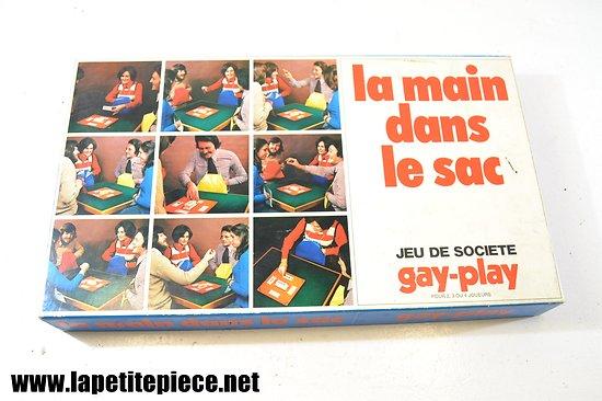 Jeu de société LA MAIN DANS LE SAC, éditions Gay-play