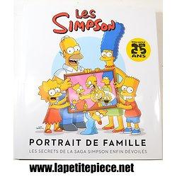 """Livre Les Simpson """"Portrait de famille"""" 25 ans, les secrets de la saga Simpson enfin dévoilés"""