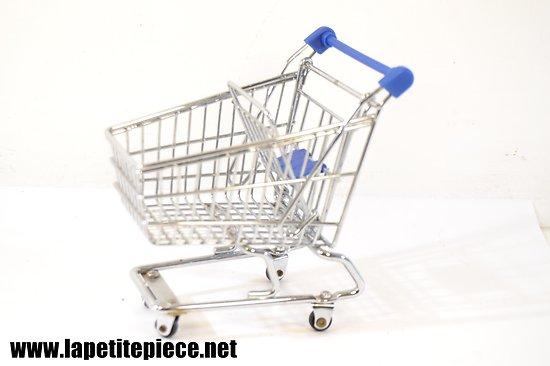 Caddie de supermarché miniature