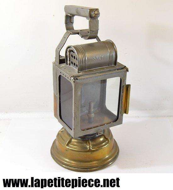 Lanterne à carbure SNCF - années 1930 - 1940