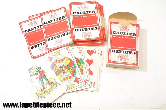 Jeu de cartes CAULIER Belgian Export Beer