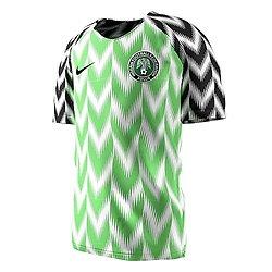 Maillot du Nigéria
