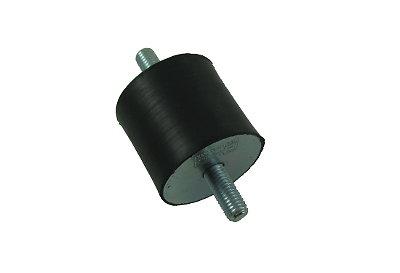 SILENTBLOC Ø40 x 40mm - 2 tiges M10 - Charge max: 120 Kgrs