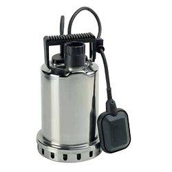 POMPE VIDE-CAVE INOX AVEC FLOTTEUR  - 230v / 600W