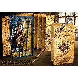 Pack baguette Harry Potter et carte du Maraudeur
