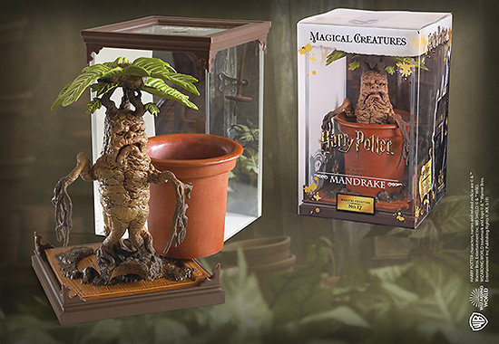 Créatures magiques - Mandragore - Figurines Harry Potter