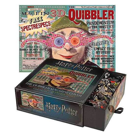 Puzzle The Quibbler Magazine Harry Potter