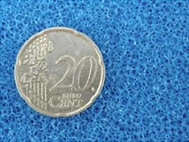 Mousse de filtration bleue PPI20