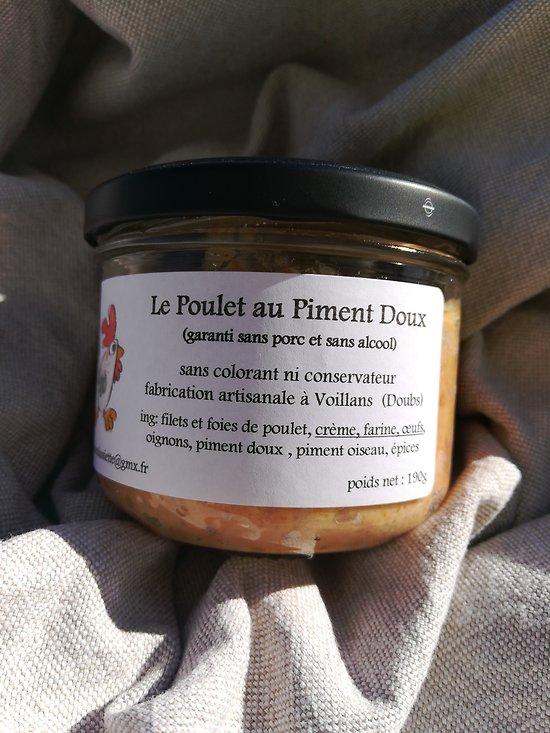 Terrine de Poulet au Piment Doux