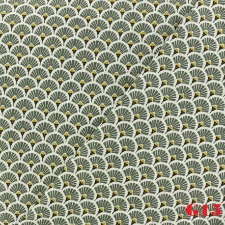 tissu-coton-cretonne-eventails-dores-vert-kaki-x-10cm.jpg