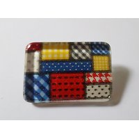 Clip Rectangle Patchwork de Couleurs