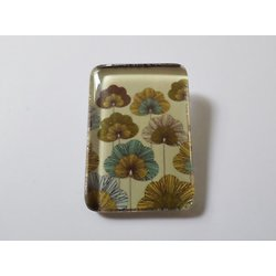 Clip Rectangle Fleurs Eventail