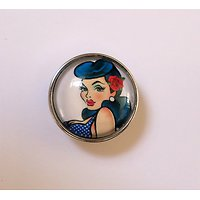 Clip Pin Up Tatouage Couleur