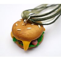 Collier Gourmand Hamburger