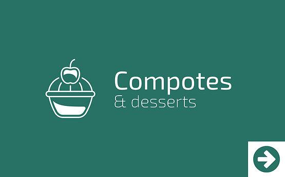Compotes & Desserts - Achetez local avec les Morandises à Idron