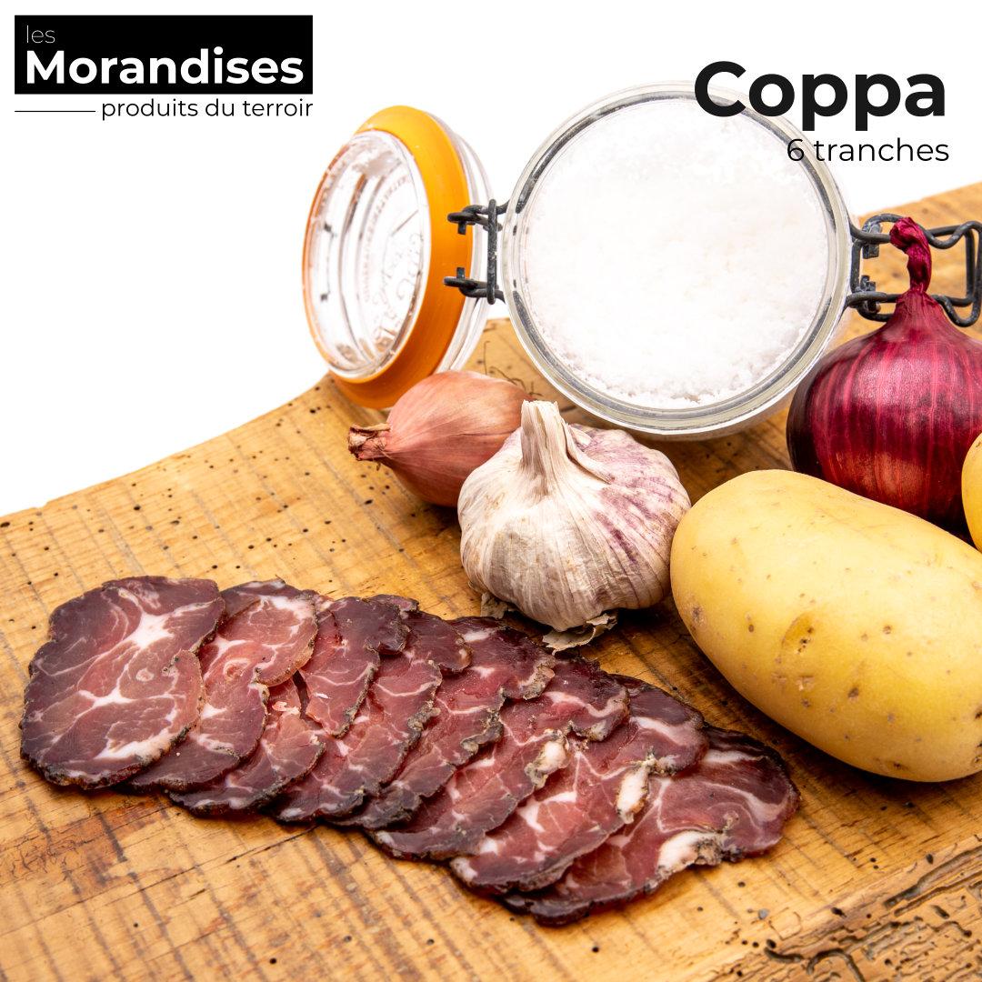 Coppa 6 tranches - Epicerie les Morandises à Pau Idron