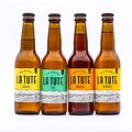 "Bière ""La Tute"" Blonde BIO"