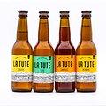 """Bière """"La Tute"""" Lager BIO 33cl"""