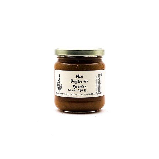 Miel de bruyère des Pyrénées 250g