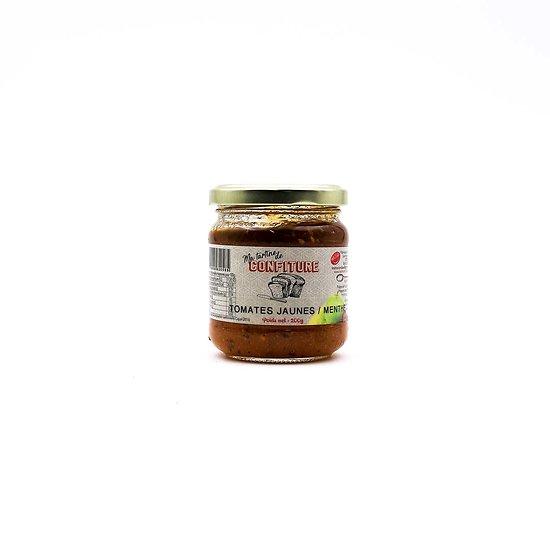 Confiture de tomates jaunes / menthe 200g
