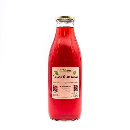 Boisson désaltérante aux fruits rouges 1L