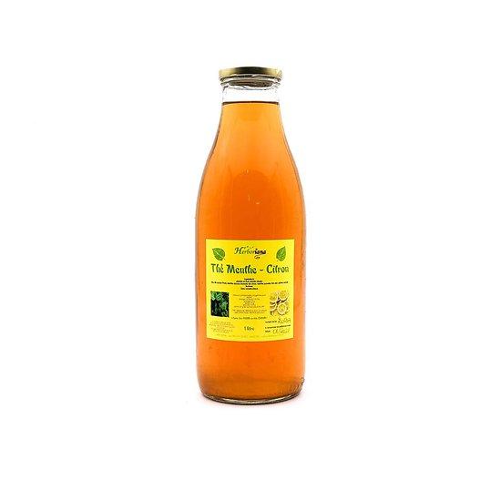 Thé menthe - citron 1L