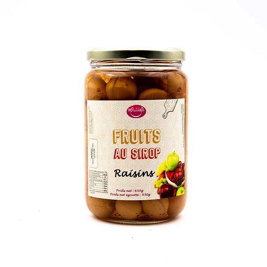Raisins au sirop 450g