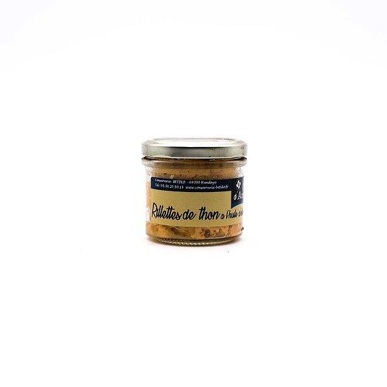 Rillettes de thon à l'huile d'olive 90g