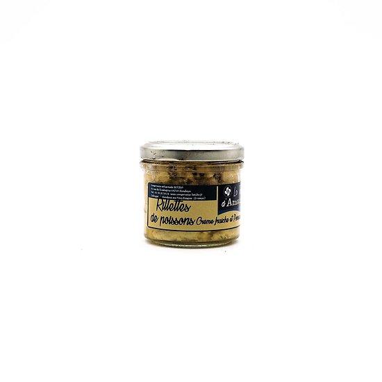 Rillettes de poissons crème fraiche et poireaux 90g