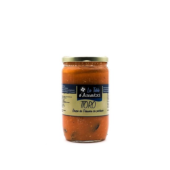 Ttoro soupe de poissons du pêcheur 600g