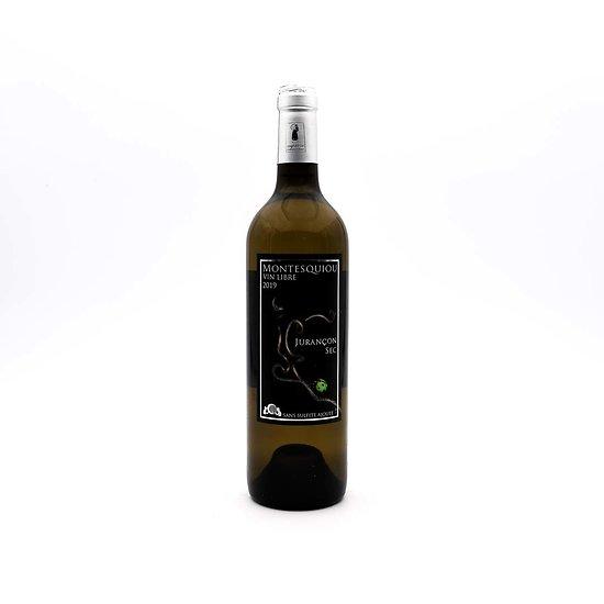 Vin blanc sec libre Jurançon Montesquiou 75cL