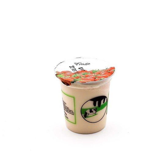 Yaourt de vache fraise 125g