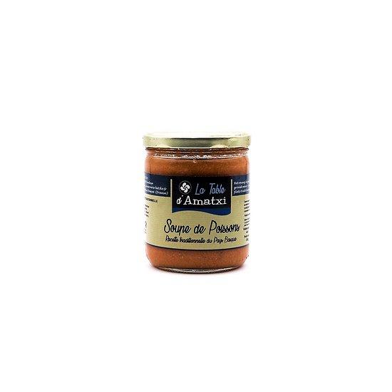 Soupe de poissons traditionnelle du Pays Basque 390g