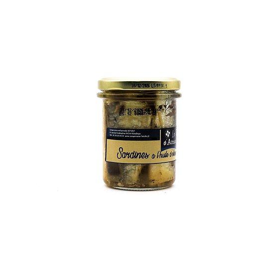Sardines à l'huile d'olive 195g