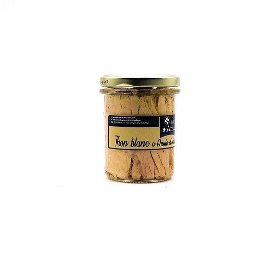 Thon blanc à l'huile d'olive 195g
