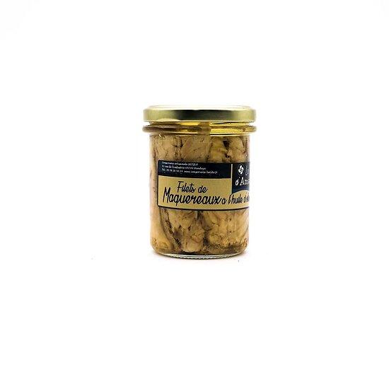 Filets de maquereaux à l'huile d'olive 277g