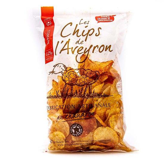 Chips à la tomate 125g