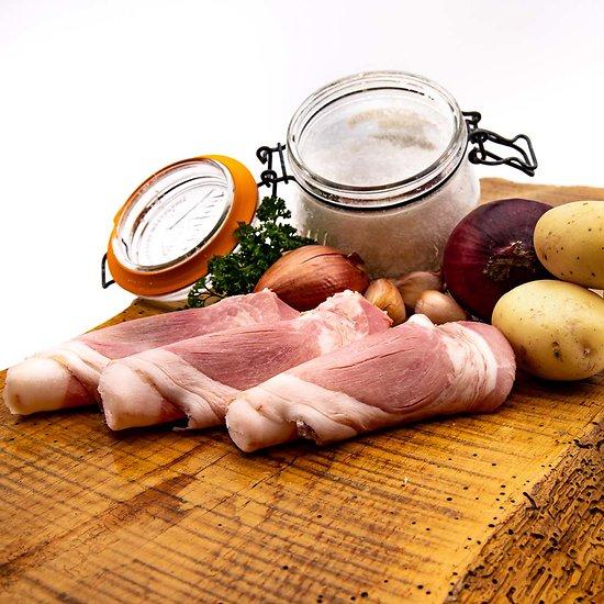 Jambon blanc sous-vide 4 tranches (environ 300g)
