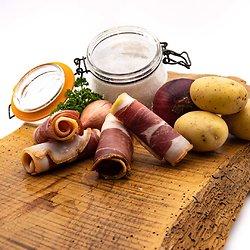 Jambon du pays sous-vide 4 tranches (environ 250g)