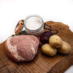 Talon de jambon blanc sous-vide (environ 550g)