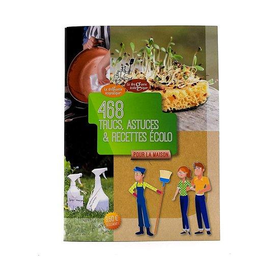 Livre 468 trucs, astuces & recettes écolo